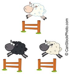 Sheep Cartoon Character Collection - 5