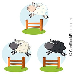 Sheep Cartoon Character Collection - 6