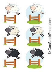 Sheep Cartoon Character Collection - 7