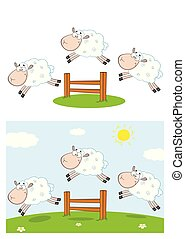 Sheep Cartoon Character Collection - 8