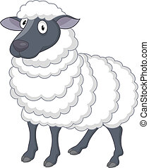 sheep, cartoon
