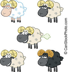 Sheep Characters 2. Collection Set