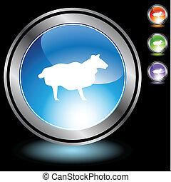 Sheep Chrome Icon Set