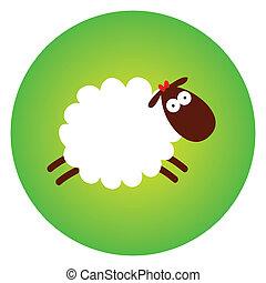 sheep, engraçado