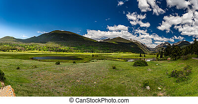 Sheep Lakes in Rocky Mountain National Park
