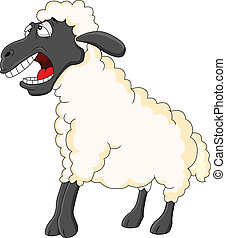 sheep, lindo, caricatura