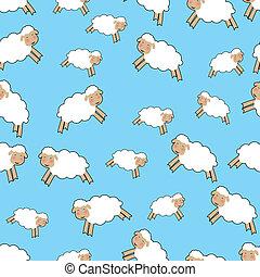 sheep, motívum