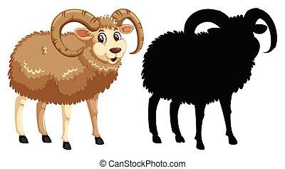 sheep, neposkvrněný, charater, grafické pozadí