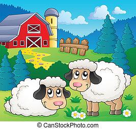 Sheep theme image 1