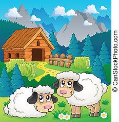 Sheep theme image 2
