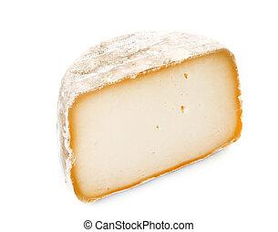 sheep's cheese in studio