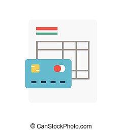 sheet flat icon