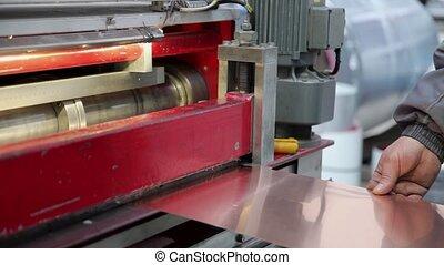 Sheet metal Cutting Machine - Sheet metal cutting machine is...