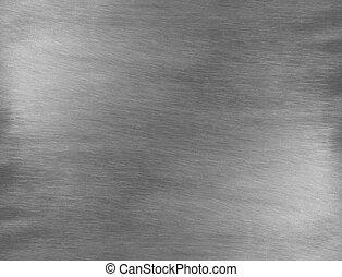 Sheet metal silver background