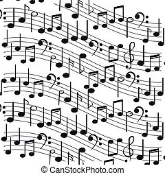 sheet music icon - flat design sheet music icon vector...