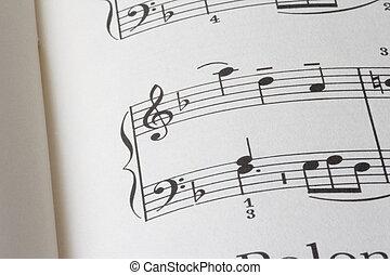 sheet of music P02
