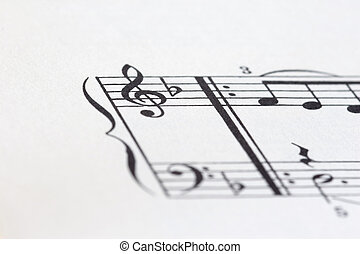 sheet of music P03