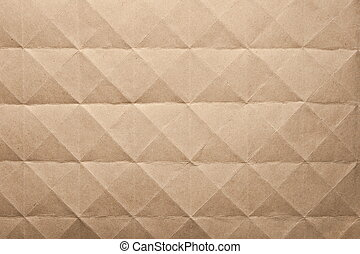 sheet of old brown paper. Background.