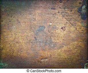 Sheet of old metal background