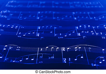 SheetMusic closeup