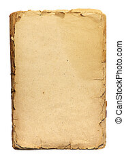 old paper - sheets of old paper with enlargement...