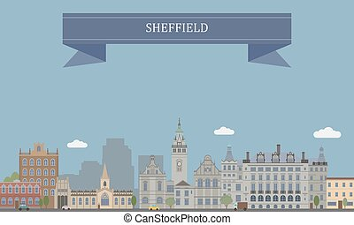 Sheffield, England - Sheffield, city and metropolitan...