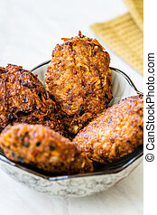 Sheftalia Cypriot Sausages / Traditional Cyprus Meatballs ...