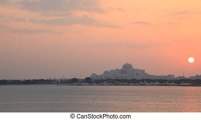 Sheikh Palace in Abu Dhabi - New palace of the Sheikh...