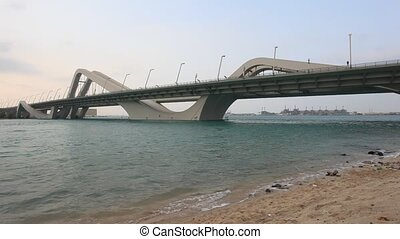 Sheikh Zayed Bridge in Abu Dhabi