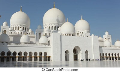 Sheikh Zayed Mosque, Abu Dhabi - Sheikh Zayed Grand Mosque...