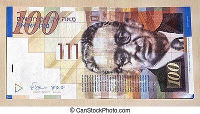 shekel, aantekening, honderd