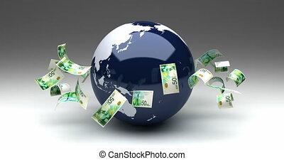 shekel, nouveau, israélien, affaires globales
