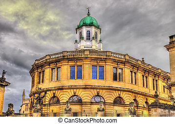 Sheldonian Theatre in Oxford - England, United Kingdom