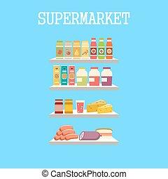shelfs, produtos