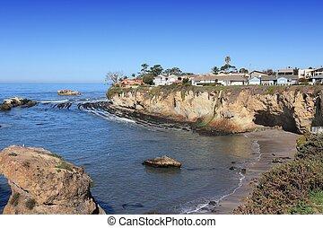 Shell Beach, California - California, USA - Pacific coast ...