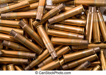 British .303 shell casings