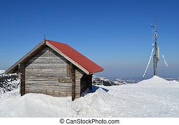 sheller, 溶けること, 雪, アンテナ
