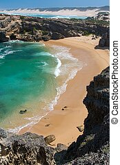 Shelly Beach at Kenton on Sea in South Africa
