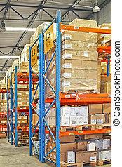 Shelves and cargo