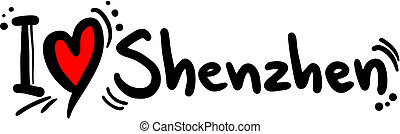 Shenzhen love - Creative design of shenzhen love