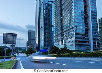 Shenzhen night - China Shenzhen Expressway night