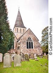 shere, 마을, 교회, 서리, 영국