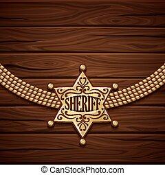 Sheriff Badge Design