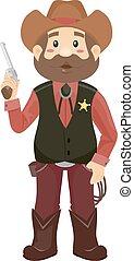 Sheriff Man