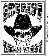 sheriff skull var 2