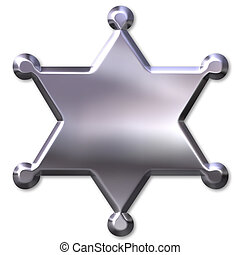 sheriff\\\'s, distintivo