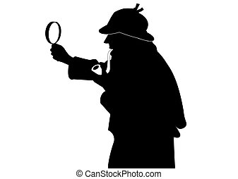 sherlock holmes vector clipart eps images 808 sherlock holmes clip rh canstockphoto com sherlock holmes caricature clipart free sherlock holmes and watson clipart