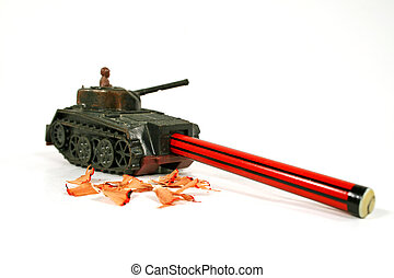 Sherman Tank Pencil Sharpner