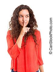Shhhh! Silence please!