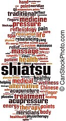 shiatsu, 単語, 雲